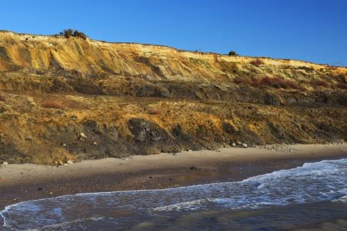 Hampshire cliffs