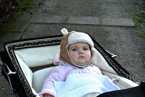 Matilda in the pram
