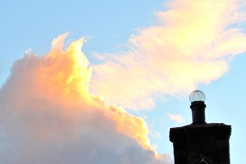 Four o'clock clouds