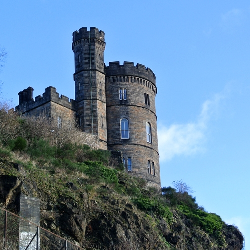 Tower above Calton Road