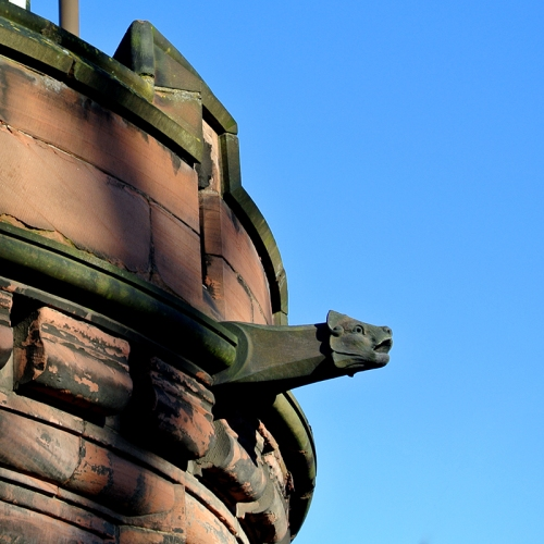 Gargoyle at Holyrood