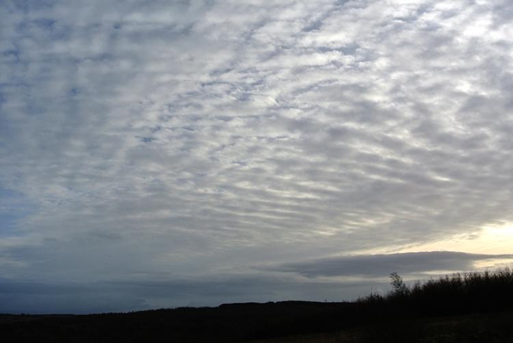 clouds at Broomholmshiels