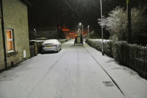Wauchope Street in snow