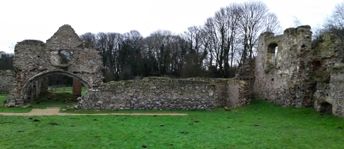 Grace Dieu Priory 1250AD