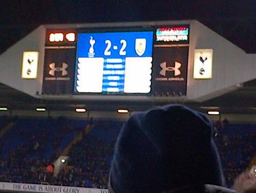 Spurs score