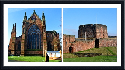Carlisle cathedral and castle