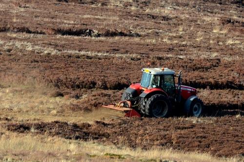 Moorland tractor