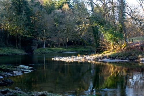 The Esk near Irvine House