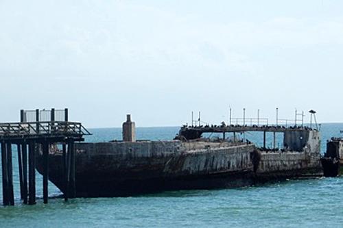 concrete ship