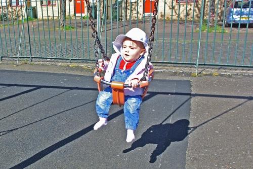 Matilda swinging