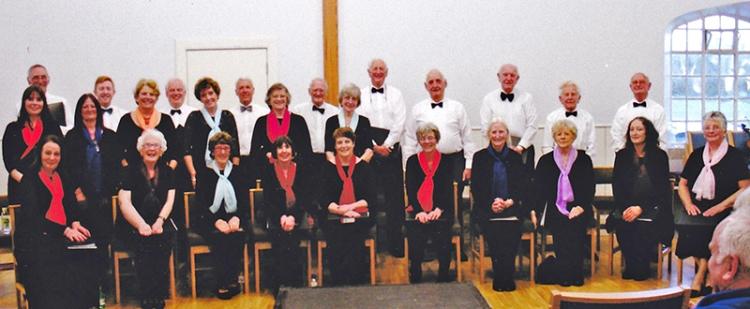 choir at canonbie