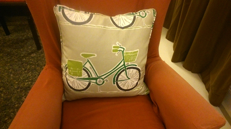 remnant cushion cover