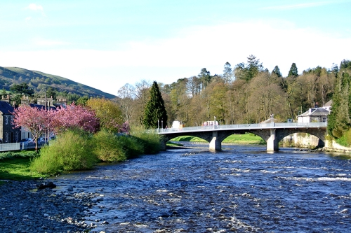 Esk at Langholm