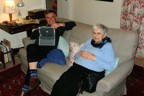 Mike and Granny