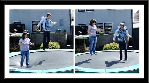 trampolinists