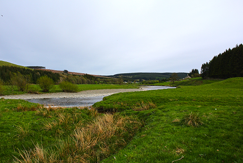 River Esk at eskdalemuir