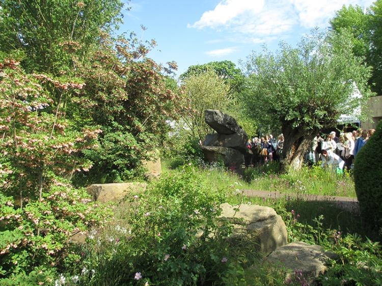 Laurent -Perrier Chatsworth Garden