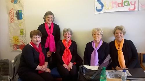 Choir ladies