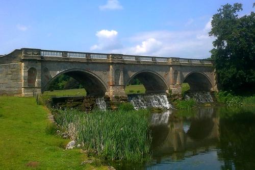 The Adam bridge, Kedleston Hall