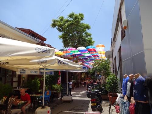 umbrellas in cyprus