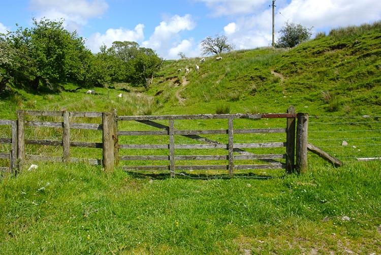 gate at Cleuchfoot