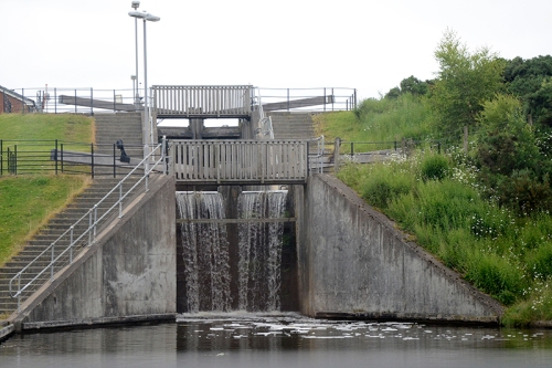Union Canal locks
