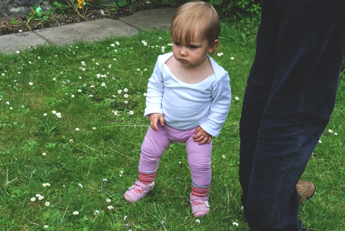Matilda in the garden
