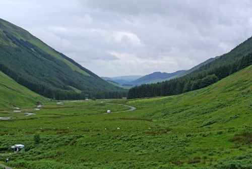 Grey Mare's tail valley