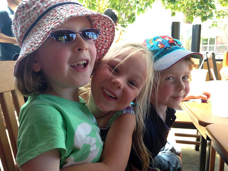 Hannah, Elinor and Leo