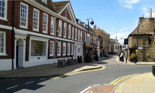 Huntingdon High Street