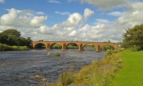 Bridge at Longtown