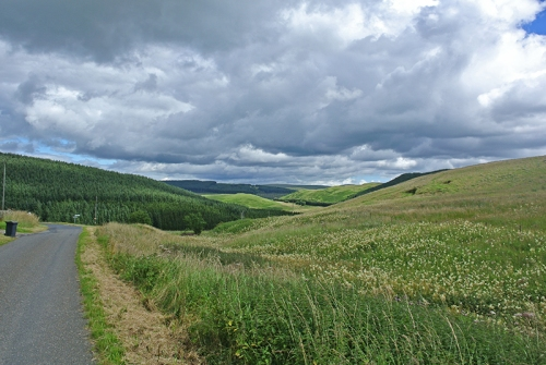 Looking back from Bailliehill
