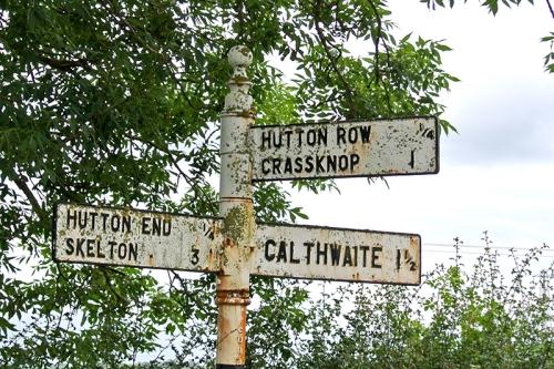 Hutton signpost