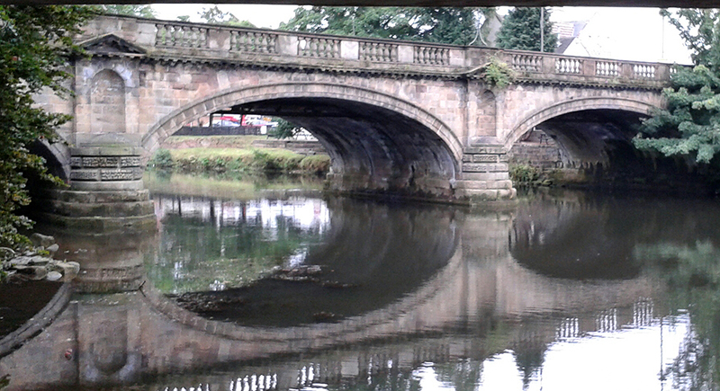 The Old A52 Bridge in Derby