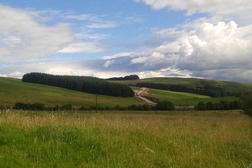 Grange quarry track