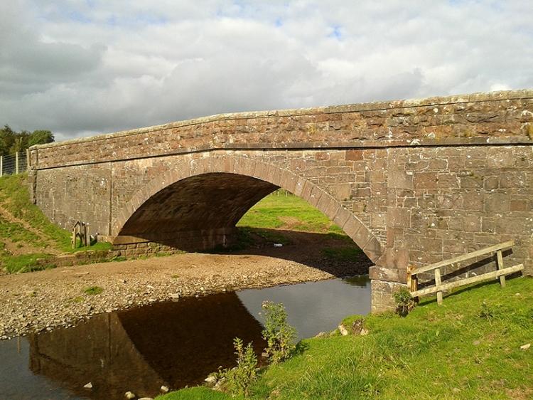 bridge over Mein water