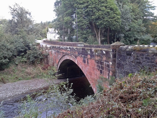 Kettleholm bridge