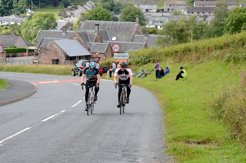 Cyclists at canonbie