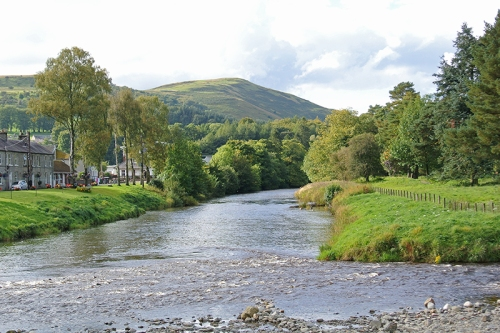 River Esk and Timpen