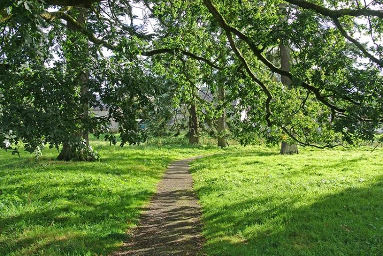 Castleholm path