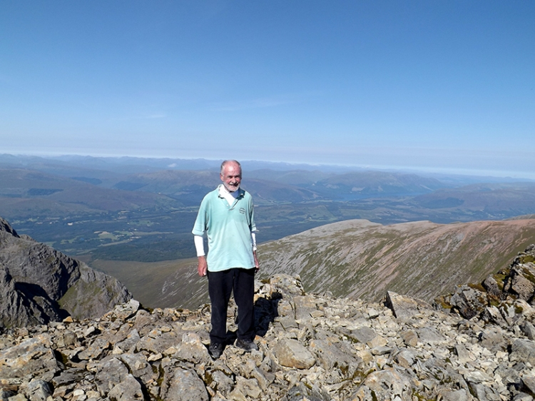 Dropscone on the Ben