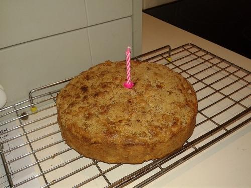 Tom's birthday cake