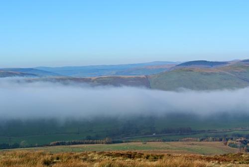 Mist in Ewes valley
