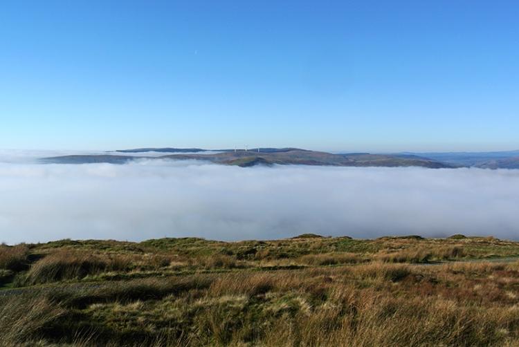 Esk Valley in mist