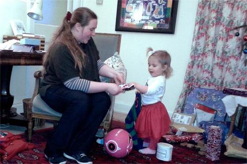 Matilda opening presents