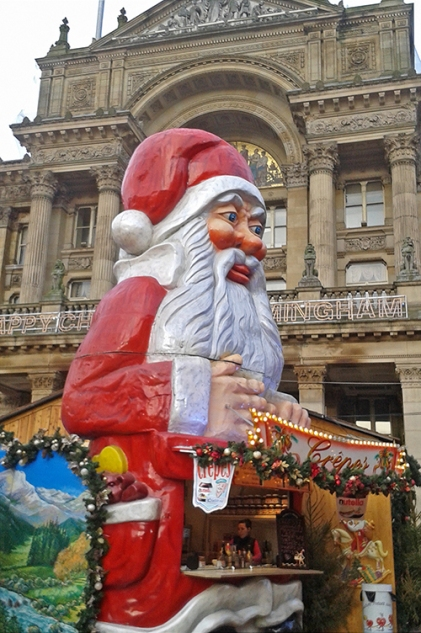 Birmingham Santa