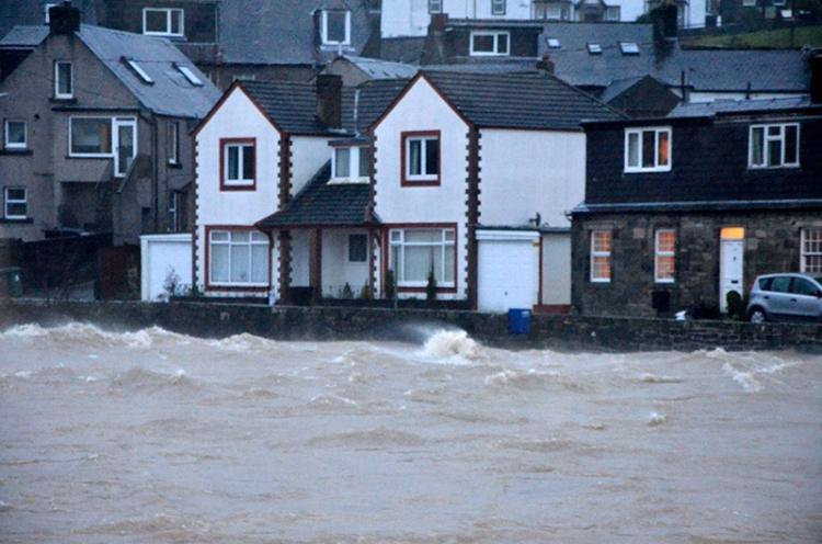 George Street in flood