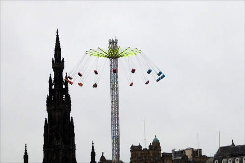 Edinburgh funfair