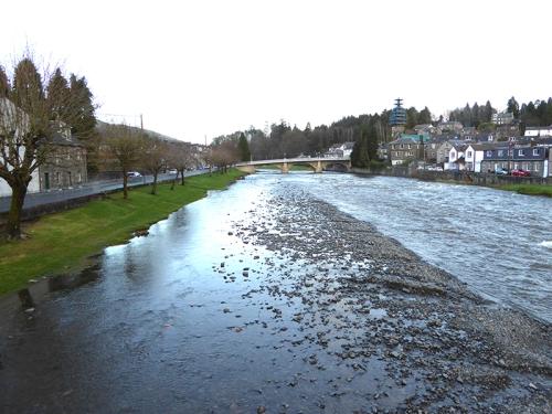 Esk after flood