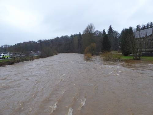 Esk in flood